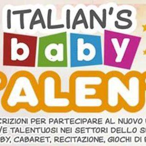 Italian's Baby Talent
