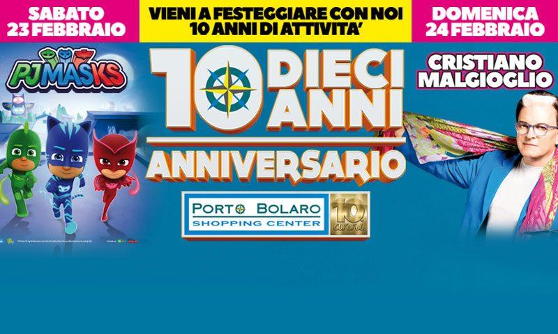10° ANNI DI PORTO BOLARO