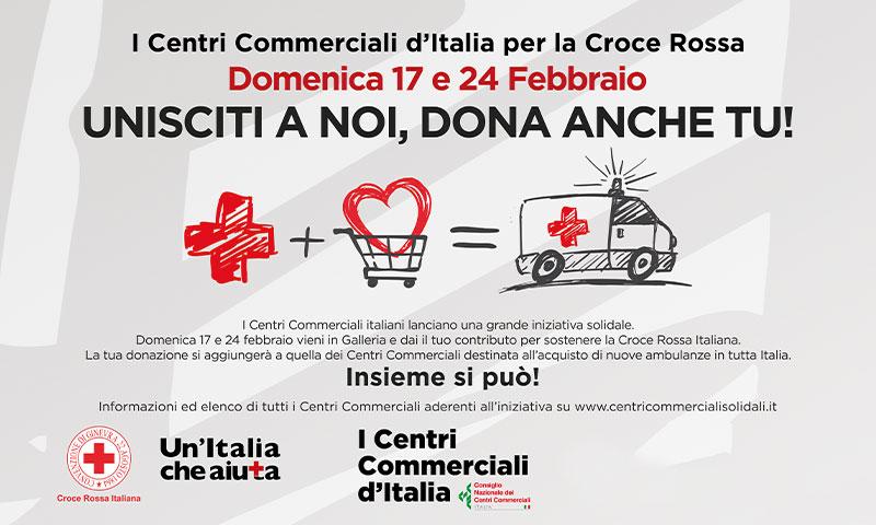 Unisciti a noi, dona anche tu alla Croce Rossa Italiana!