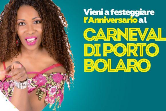Vieni a festeggiare l'Anniversario al Carnevale di Porto Bolaro