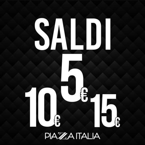Saldi piazza italia